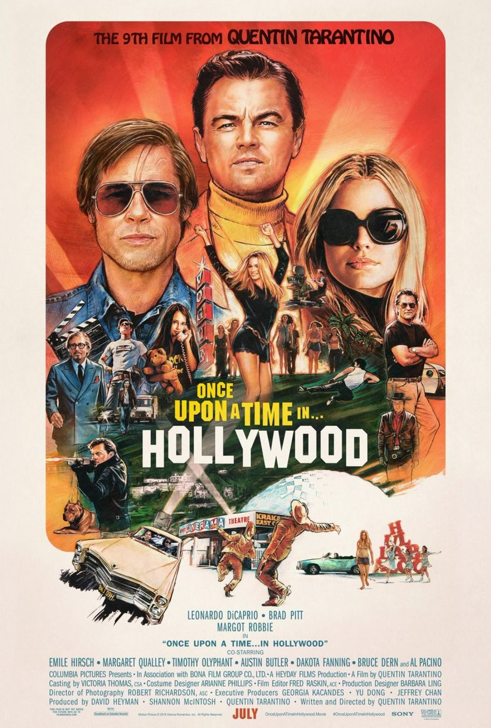 Once Upon a Time in Hollywood revela nuevo póster — Velv