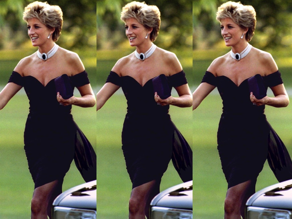 "El icónico y controversial ""Revenge Dress"" de Lady Di"
