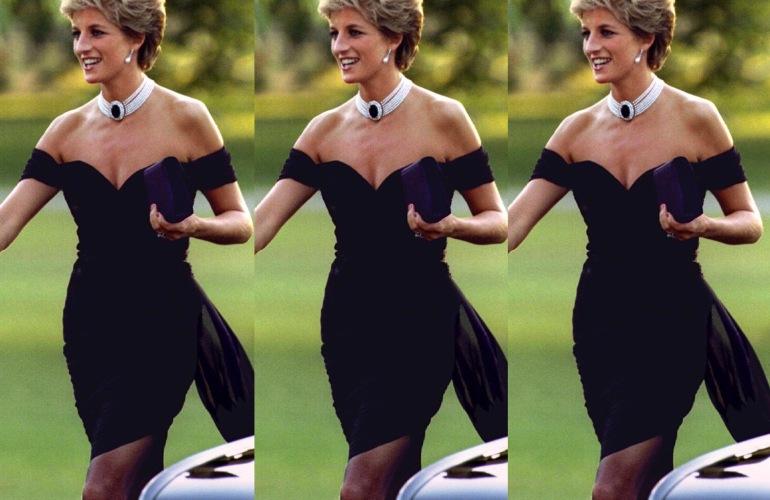 """El icónico y controversial """"Revenge Dress"""" de Lady Di"""