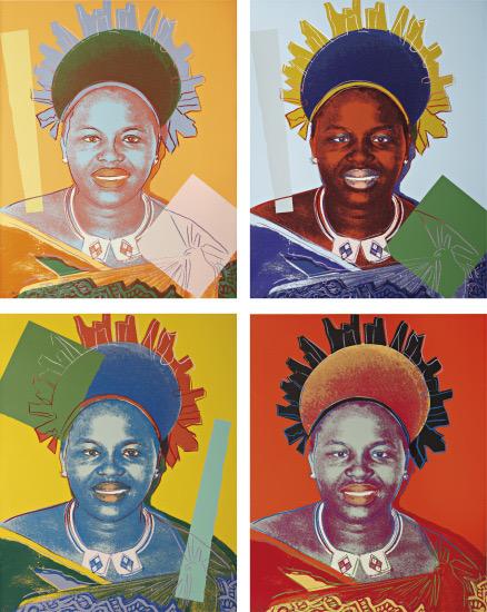 Reina Ntombi de Suazilandia