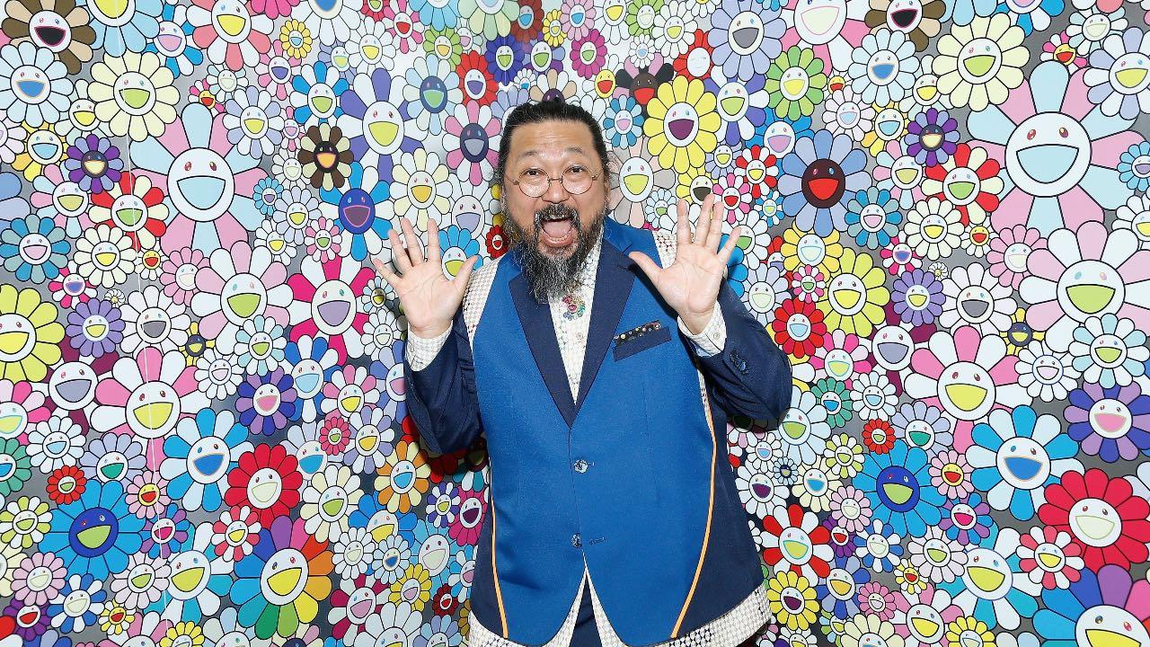 Quién es Takashi Murakami, el artista contemporáneo que dejó su huella en la moda y la música