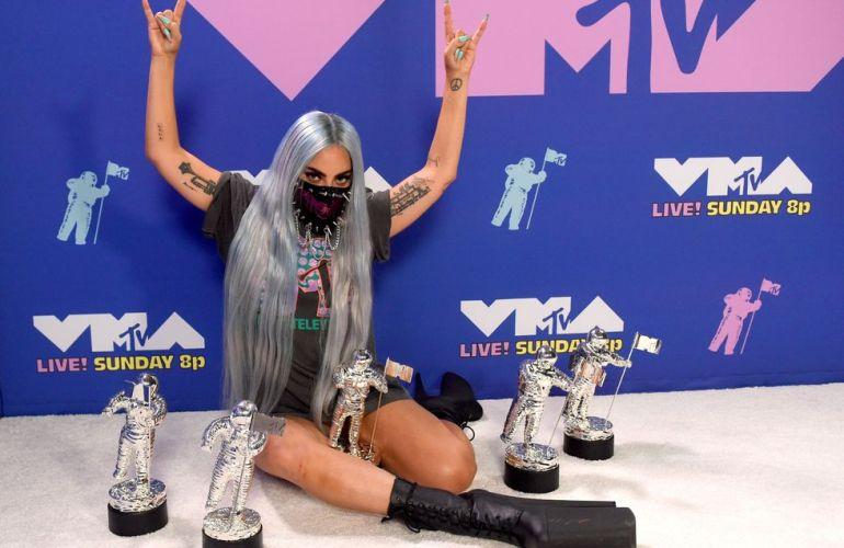 MTV VMAs: Lady Gaga fue la protagonista de la noche con 5 premios y 9 looks distintos