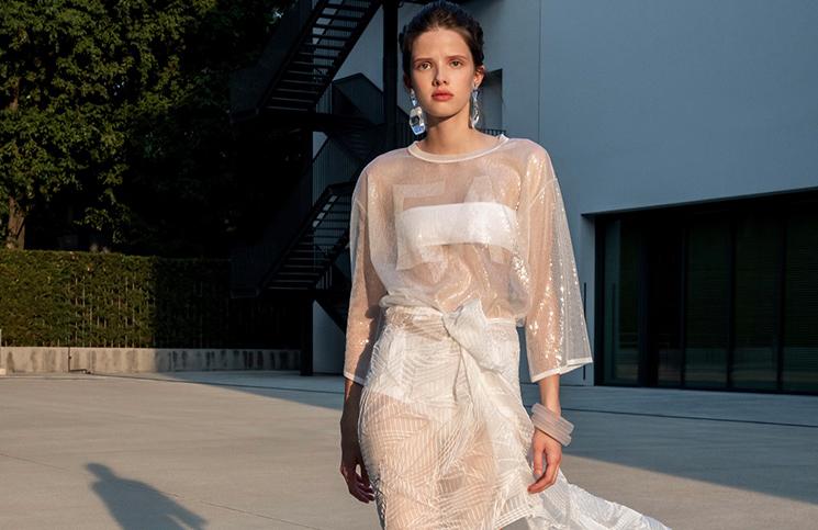 Milan Fashion Week: oversized, transparencias y ropa interior a la vista